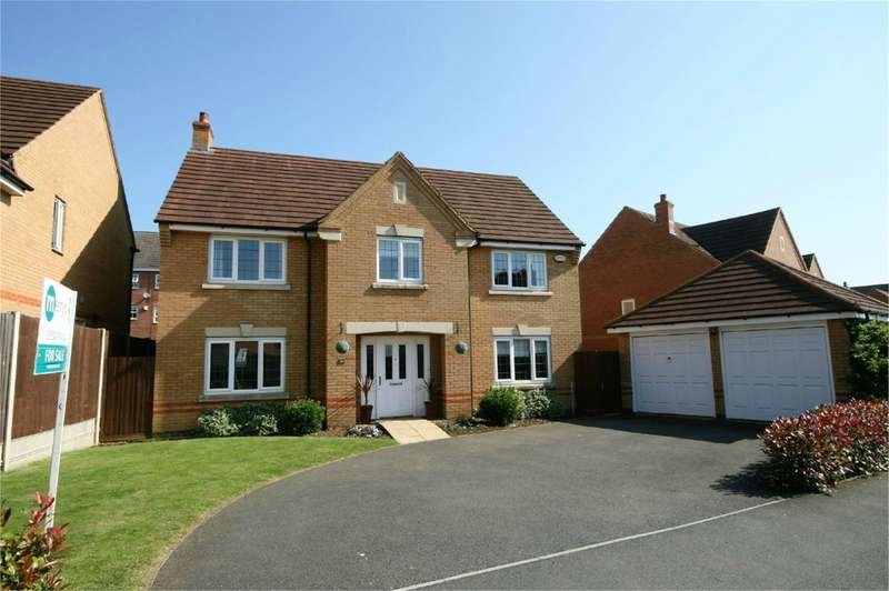 4 Bedrooms Detached House for rent in Centurion Way, Wootton, Northampton, NN4