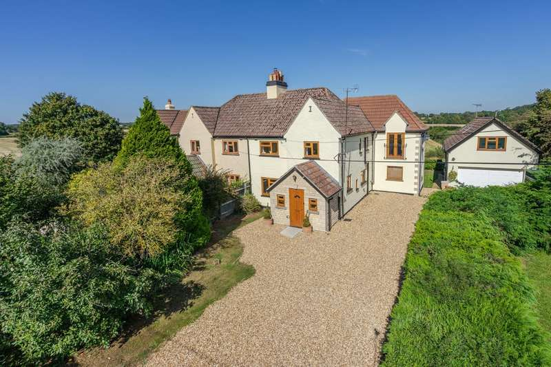 4 Bedrooms Semi Detached House for sale in Cowage Farm Cottages, Foxley