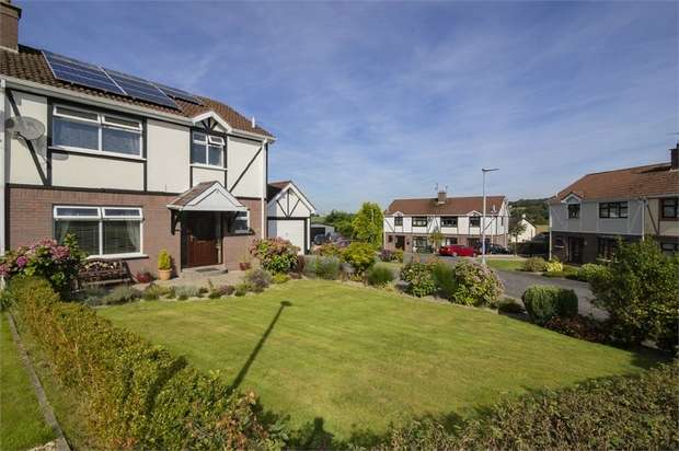 3 Bedrooms Semi Detached House for sale in Millbrook Park, Artigarvan, Strabane, County Tyrone
