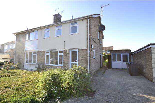 3 Bedrooms Semi Detached House for sale in Clarkston Road, CARTERTON, Oxfordshire, OX18