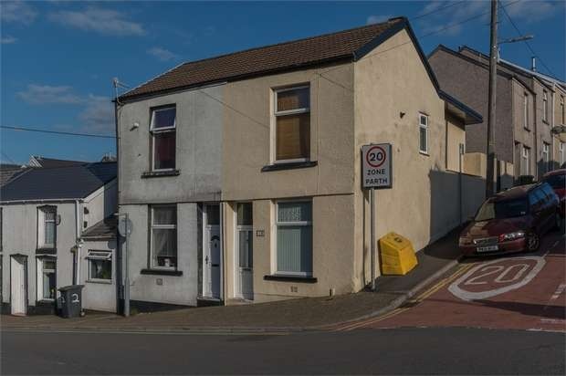 2 Bedrooms End Of Terrace House for sale in Cross Street, Aberdare, Mid Glamorgan