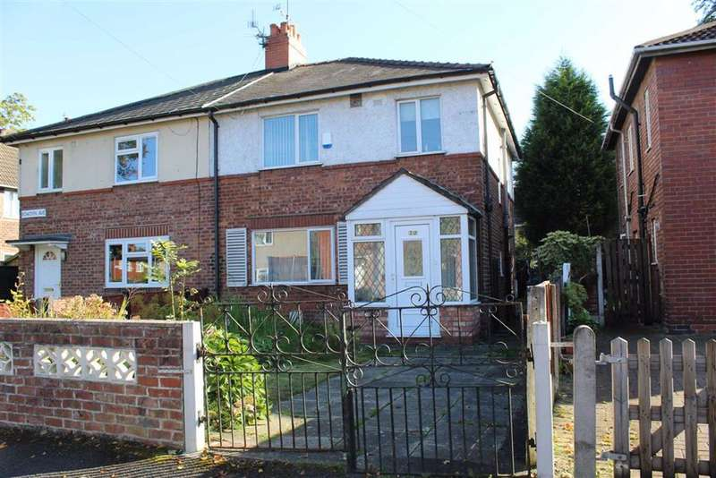 3 Bedrooms Semi Detached House for sale in Bowdon Avenue, Manchester