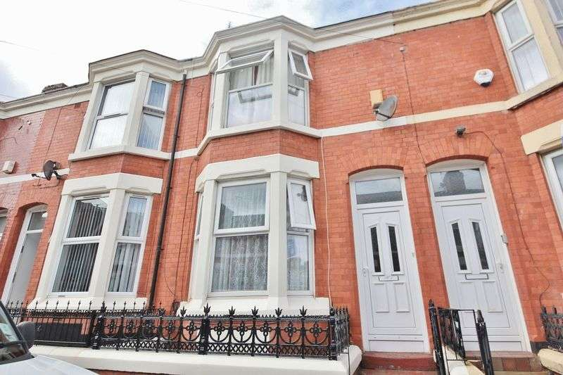 3 Bedrooms Property for sale in Adelaide Road, Kensington, Liverpool, L7