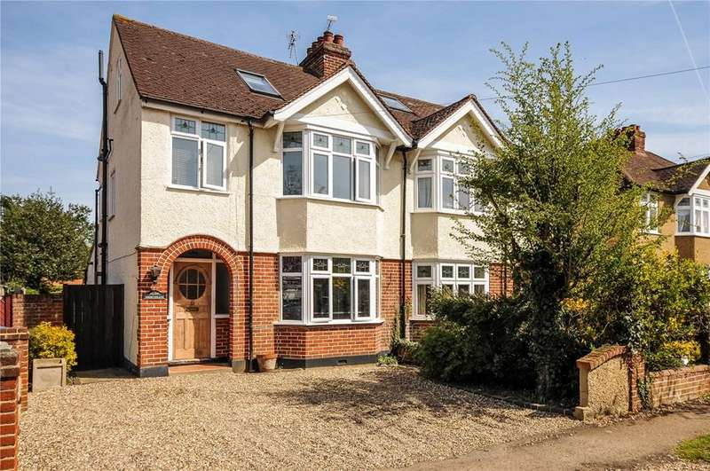 4 Bedrooms Semi Detached House for sale in Orchard Avenue, Windsor, Berkshire, SL4
