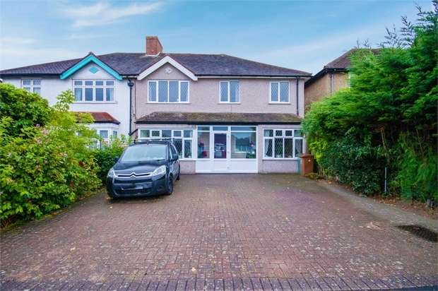 5 Bedrooms Semi Detached House for sale in Oakhill Road, Sutton, Surrey