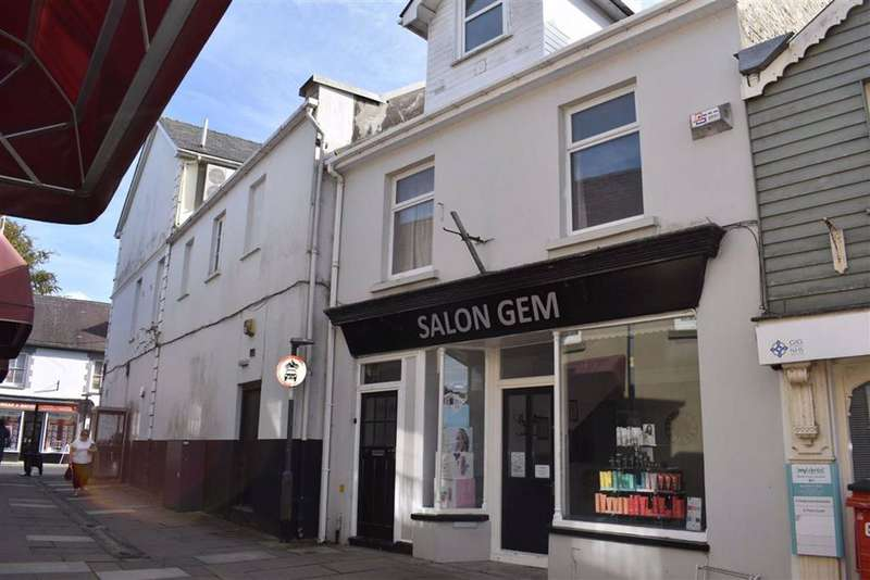 2 Bedrooms Retail Property (high Street) Commercial for sale in Market Street, Lampeter