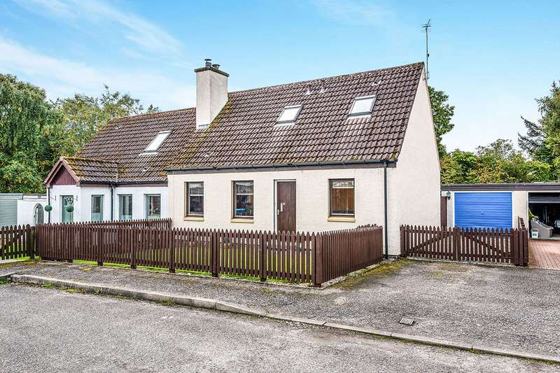 3 Bedrooms Semi Detached House for sale in Tarradale Gardens, Muir of Ord, Highland, IV6