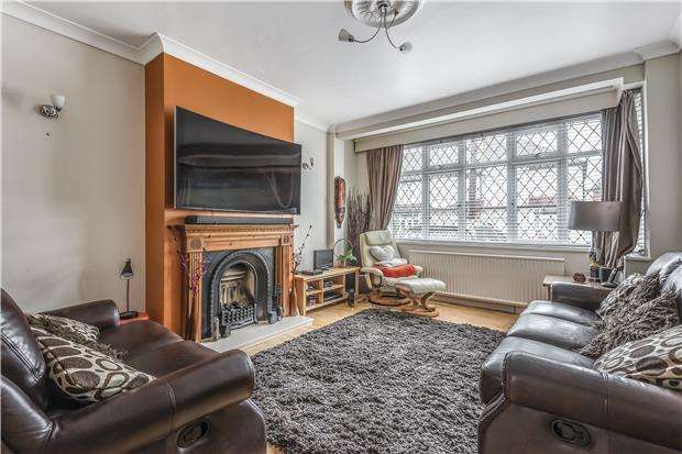4 Bedrooms Terraced House for sale in Pentlands Close, Mitcham, Surrey, CR4