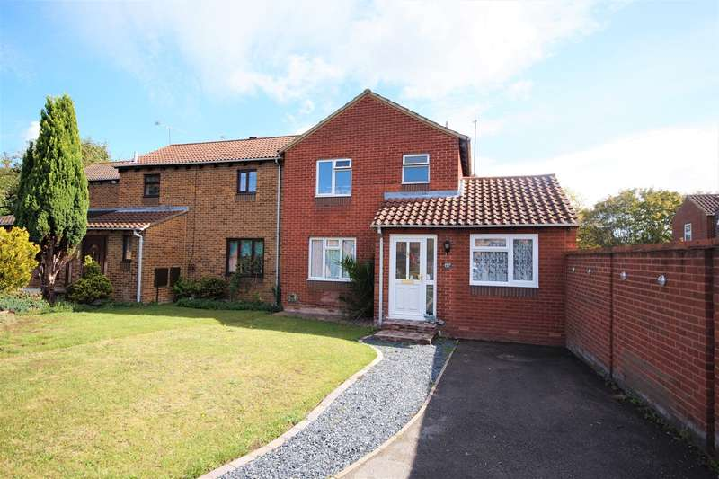 4 Bedrooms End Of Terrace House for sale in Chilcombe Way, Lower Earley, Reading, RG6