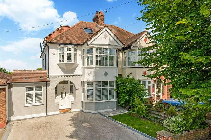 5 Bedrooms Semi Detached House for sale in Colborne Way, Worcester Park, Surrey, KT4