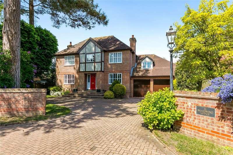 5 Bedrooms Detached House for sale in Gossmore Lane, Marlow, Buckinghamshire, SL7