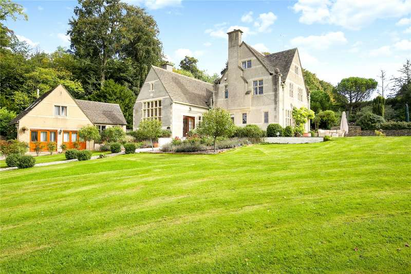 6 Bedrooms Detached House for sale in Burleigh, Stroud, Gloucestershire, GL5