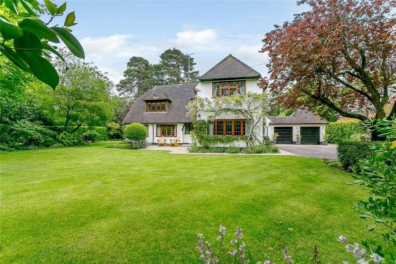 4 Bedrooms Detached House for sale in Nuns Walk, Virginia Water, Surrey, GU25