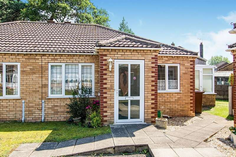 2 Bedrooms Semi Detached Bungalow for sale in Swallow Gardens, Doddington Road, Lincoln, LN6