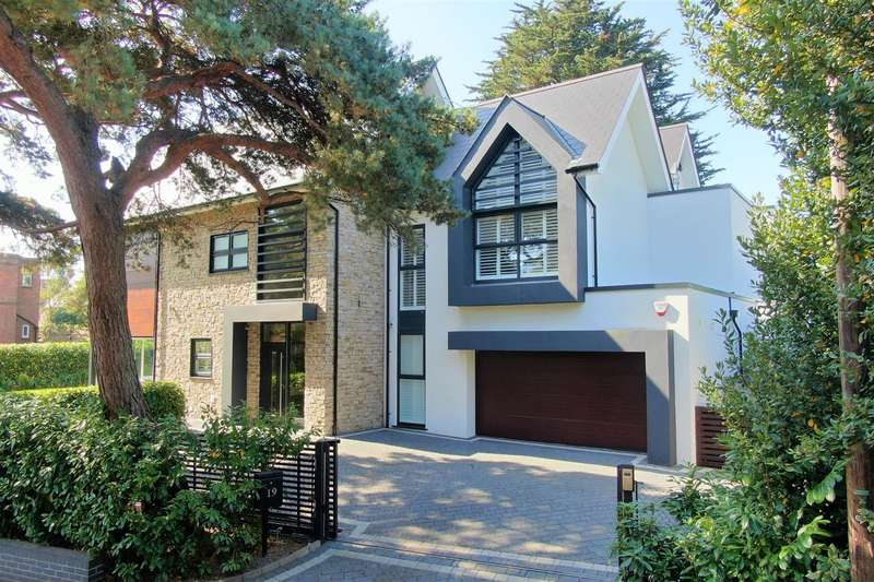 4 Bedrooms Detached House for sale in Ravine Road, Canford Cliffs, Poole
