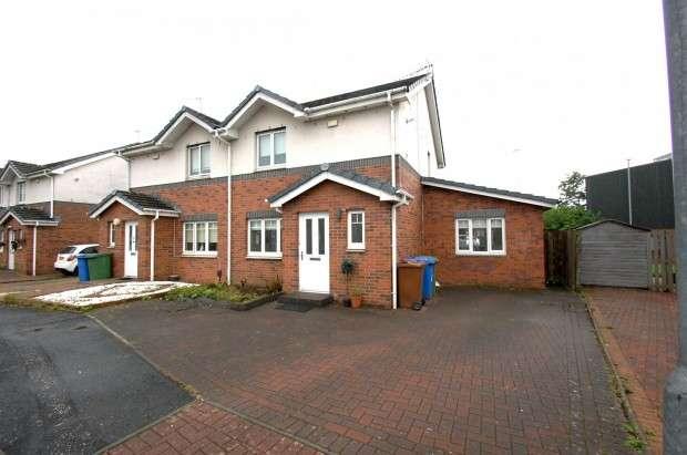 3 Bedrooms Semi Detached House for sale in 38 Montgarrie Street, Drumoyne, G51