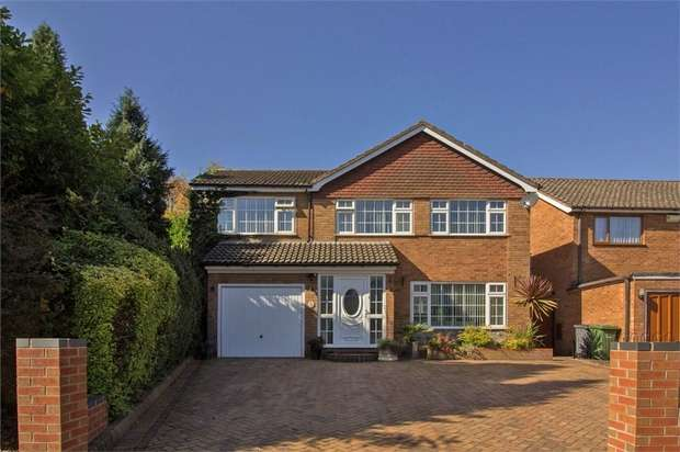 4 Bedrooms Detached House for sale in Coleshill Road, Water Orton, Birmingham, Warwickshire