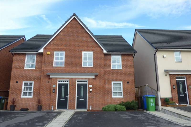 4 Bedrooms Semi Detached House for sale in Omrod Road, Heywood, Greater Manchester, OL10
