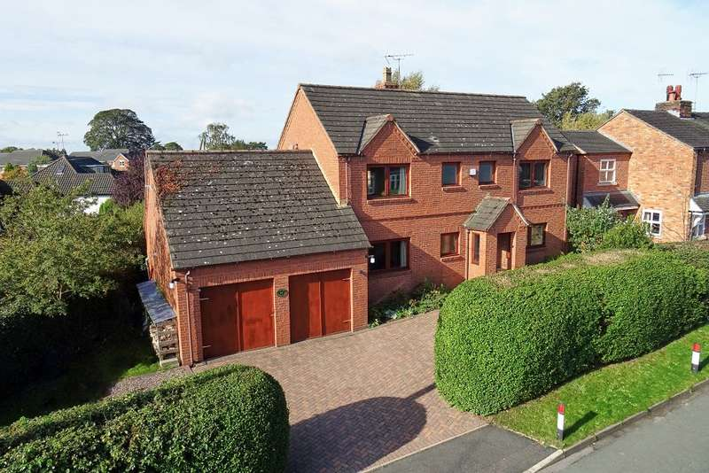 4 Bedrooms Detached House for sale in Colley Lane, Sandbach, Cheshire, CW11 4HE