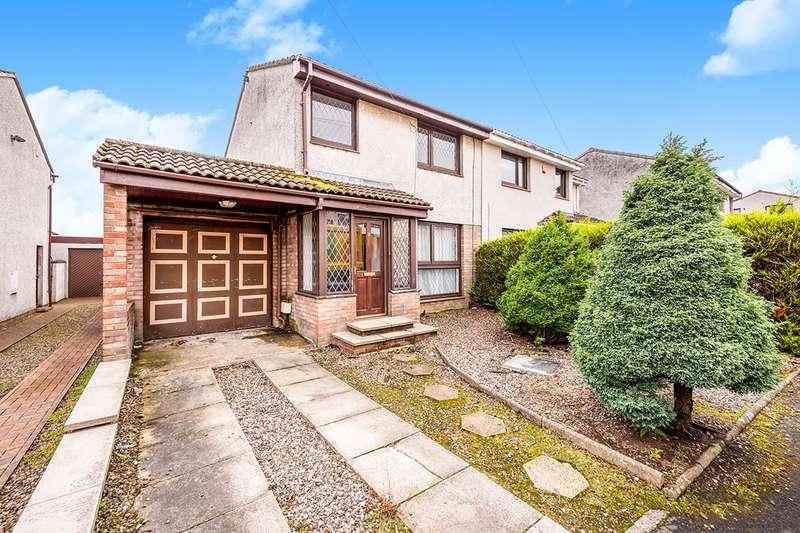 3 Bedrooms Semi Detached House for sale in Glendevon Place, Kirkcaldy, Fife, KY2
