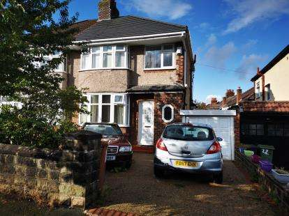 3 Bedrooms Semi Detached House for sale in Broadway, Higher Bebington, Wirral, CH63