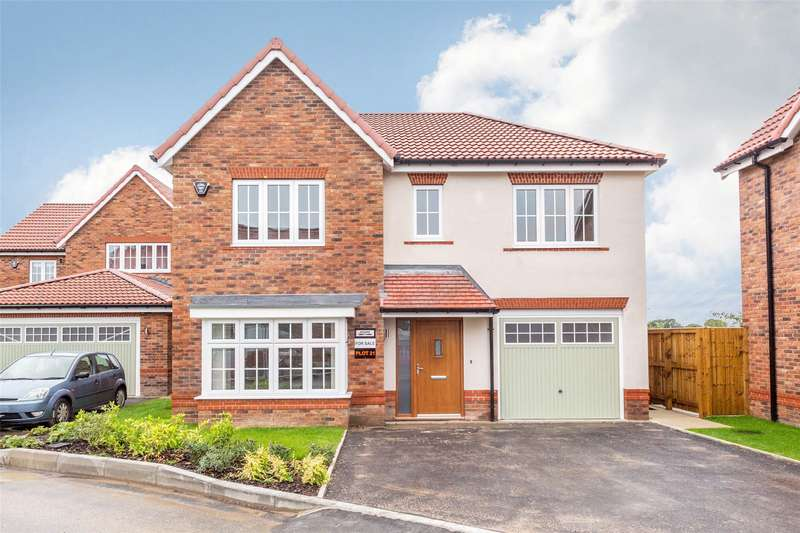 4 Bedrooms Detached House for sale in The Hollies, Riccall, York, North Yorkshire, YO19