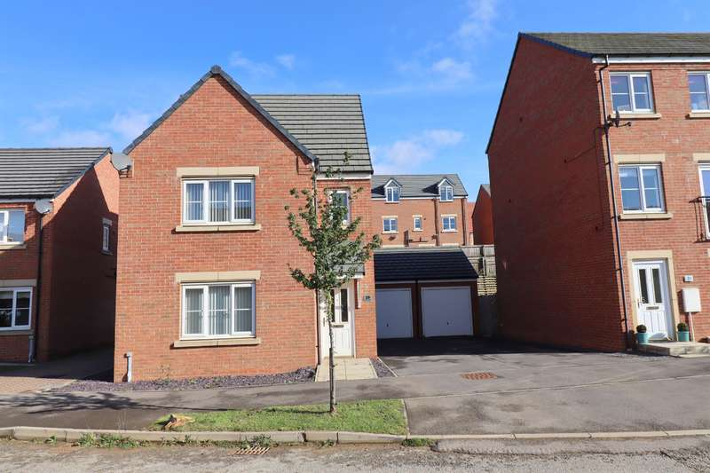 4 Bedrooms Detached House for sale in Sterling Way, Shildon, DL4 2GT
