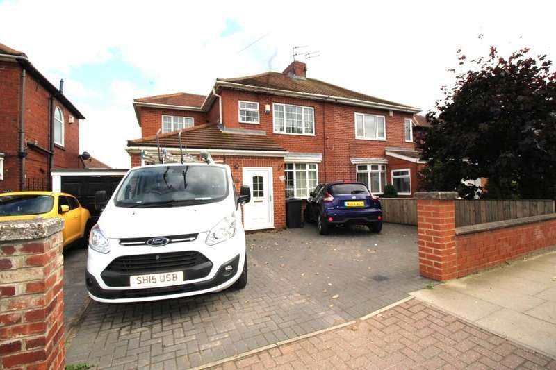 3 Bedrooms Semi Detached House for sale in Victoria Road West, Hebburn, NE31