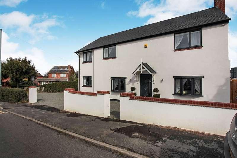 4 Bedrooms Detached House for sale in Shilton Lane, Bulkington, Bedworth, Warwickshire, CV12