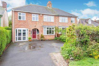 5 Bedrooms Semi Detached House for sale in Bradgate Road, Newtown Linford, Leicester, Leicestershire