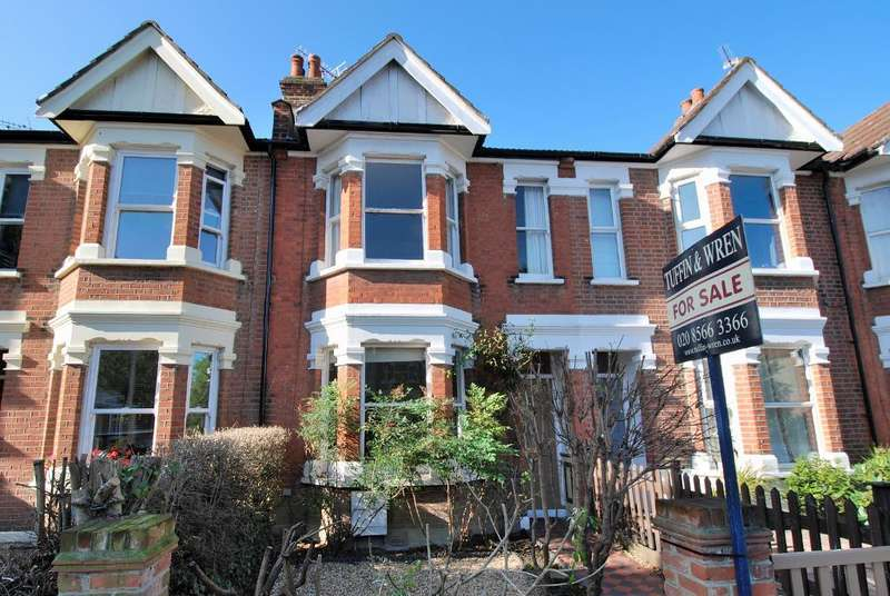 2 Bedrooms Terraced House for sale in Northcroft Road, Ealing, London, W13 9SS