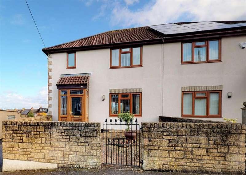 3 Bedrooms Semi Detached House for sale in Tennis Court Avenue, Paulton, Bristol