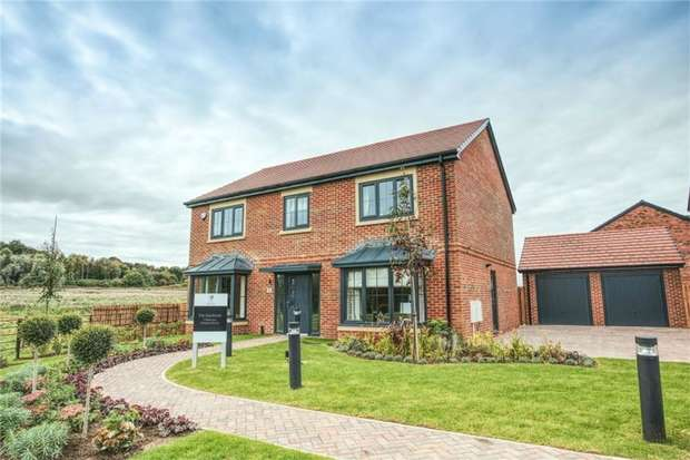 5 Bedrooms Detached House for sale in THE HARDWICK - LARGE STUNNING GARDEN PLOT, Salters Lane, Sedgefield, Durham