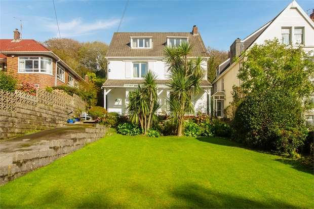 5 Bedrooms Detached House for sale in Rotherslade Road, Langland, Swansea, West Glamorgan