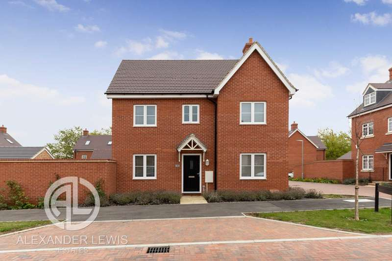 3 Bedrooms Detached House for sale in Conder Boulevard, Shortstown, Bedfordshire MK42 0GX