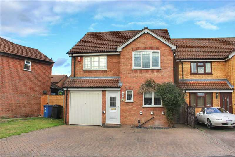 4 Bedrooms Detached House for sale in Guy Cook Close, Great Cornard
