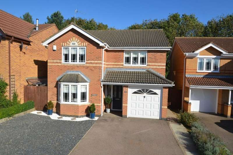 4 Bedrooms Detached House for sale in Donne Close, Kettering, NN16