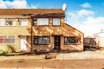 3 Bedrooms Semi Detached House for sale in Bradfield Close, Reddish, Stockport, Cheshire