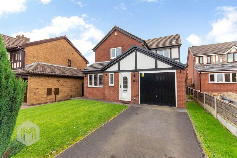 4 Bedrooms Detached House for sale in Burghley Drive, Radcliffe, Manchester, Greater Manchester, M26