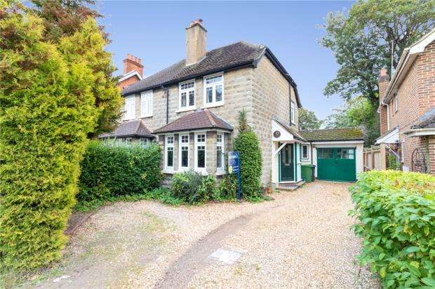 3 Bedrooms Semi Detached House for sale in The Grove, Frimley, Camberley