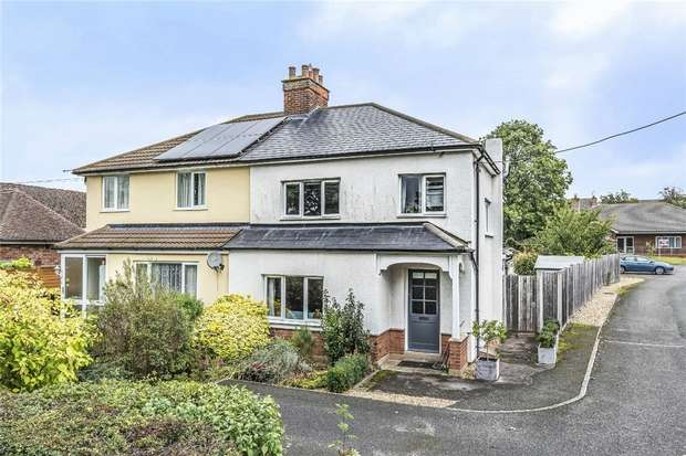 3 Bedrooms Semi Detached House for sale in Mill Road, Sharnbrook, Bedford