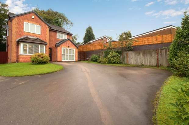 4 Bedrooms Detached House for sale in Butterstile Close, Prestwich, Greater Manchester, M25 9PH