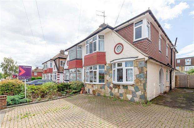 5 Bedrooms Semi Detached House for sale in Caversham Avenue, SUTTON, Surrey, SM3 9AH