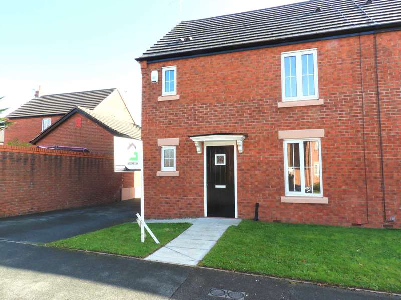 3 Bedrooms Semi Detached House for sale in Yoxall Drive, Littledale