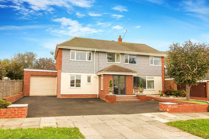 6 Bedrooms Detached House for sale in Granada Drive, Whitley Bay
