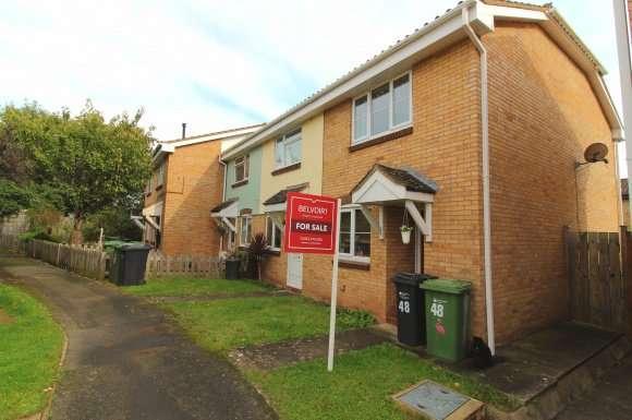 2 Bedrooms Property for sale in Haldon Way, Bobblestock, Hereford