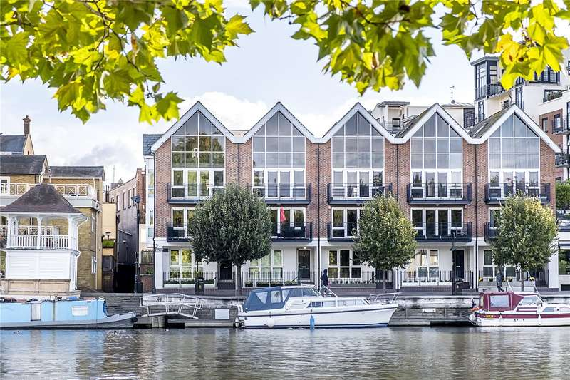 4 Bedrooms Terraced House for sale in Quayside Walk, Kingston upon Thames, KT1