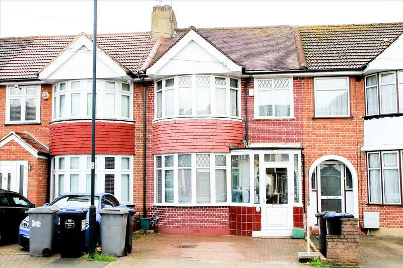 3 Bedrooms Terraced House for sale in Eton Grove, NW9, London