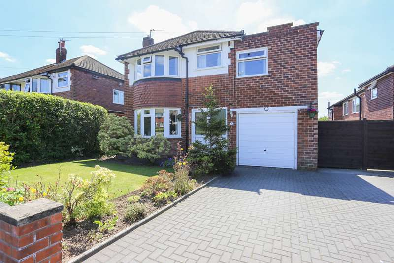 4 Bedrooms Detached House for sale in Norbury Drive, Marple, Cheshire, SK6