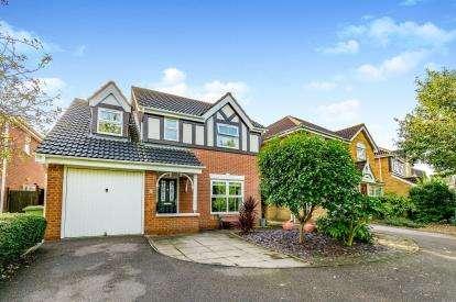 4 Bedrooms Detached House for sale in Gerard Close, Bradville, Milton Keynes, Buckinghamshire